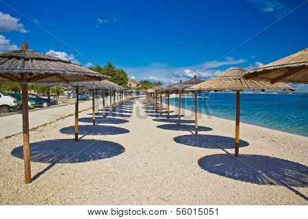 Island Of Vir Beach Umbrellas
