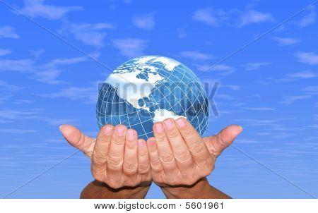Globe sky
