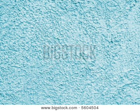 Teal Color Stucco Pattern Background
