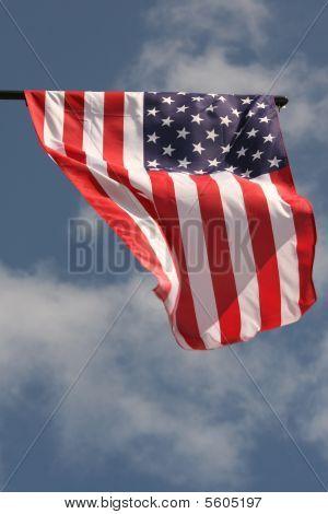 windy day in america