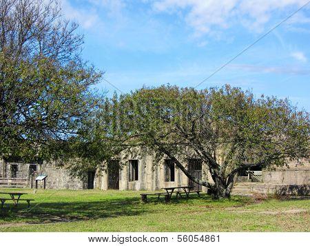 Historical 1819 Fort Wool Virginia Landmark