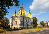 Orthodox Church of the nineteenth century in Tomaszow Lubelski Poland. poster