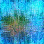 This image was created as digital imitation of oil painting on scratched texture poster