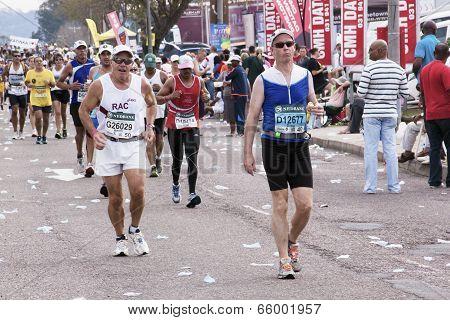 View Of Many Comrades Ultra Marathon Runners