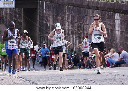 Ten Runners Competing In Comrades Ultra Marathon