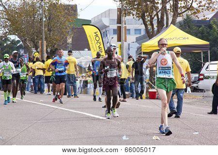 Eight Runners And Spectators At Comrades Marathon