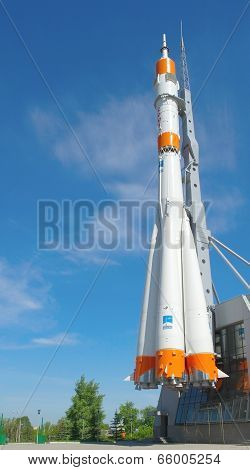 Soyuz Rocket As Monument