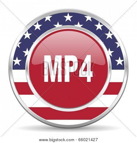 mp4 american icon, usa flag