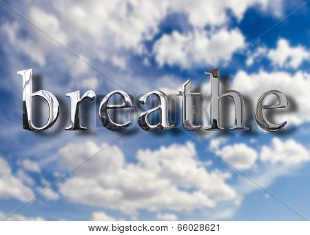 Breathe Air Concept