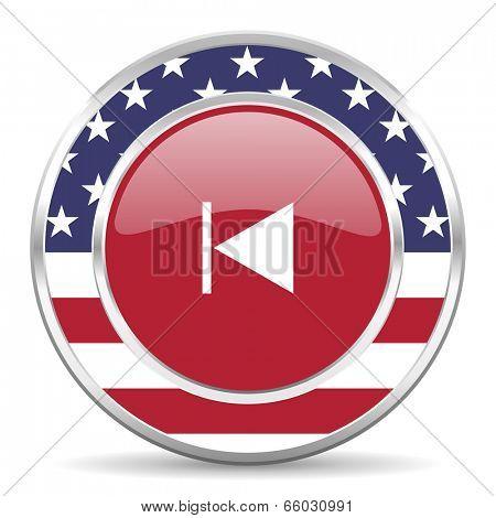 prev american icon, usa flag
