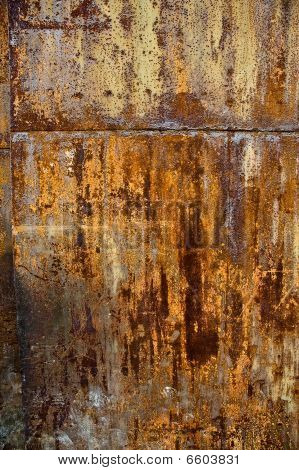 Abstract Colorful And Bright Rust Texture Grunge Background.