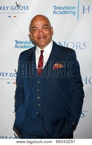 LOS ANGELES - JUN 1:  Ricky Minor at the 7th Annual Television Academy Honors at SLS Hotel on June 1, 2014 in Los Angeles, CA