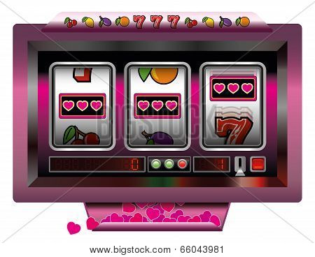 Slot Machine Hearts