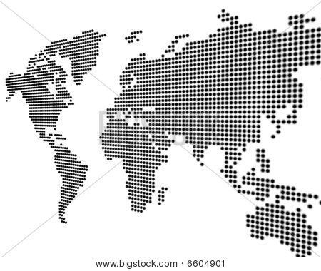 Worldmap White