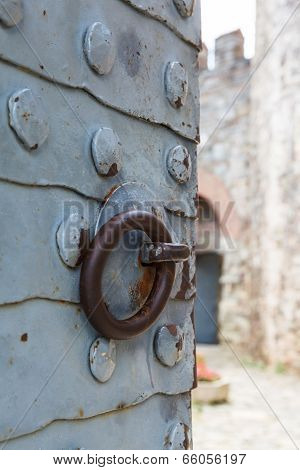 Forged Plate On The Gate