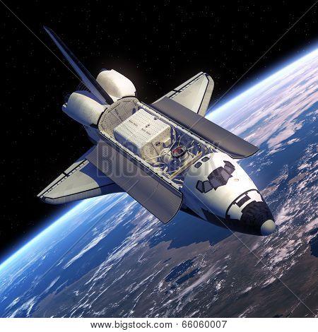 Space Shuttle Orbiter.