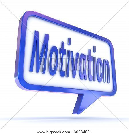 Speech Bubble Motivation