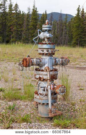 Oil Gas Industry Wellhead Flange Gear Locked Shut