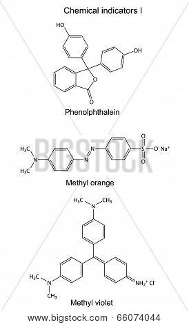 Structural Formulas Of Chemical Indicators