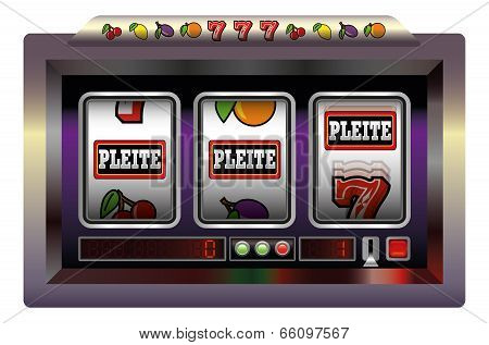 Slot Machine Pleite