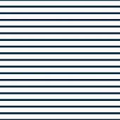 Thin Navy Blue and White Horizontal Striped Textured Fabric Background that is seamless and repeats poster