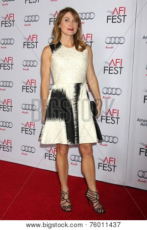 LOS ANGELES - NOV 12:  Sasha Alexander at the A Special Tribute to Sophia Loren at AFI Film Festival at the Dolby Theater on November 12, 2014 in Los Angeles, CA