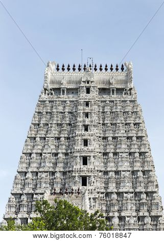Southern Gopuram Of Thiruvannamalai Temple