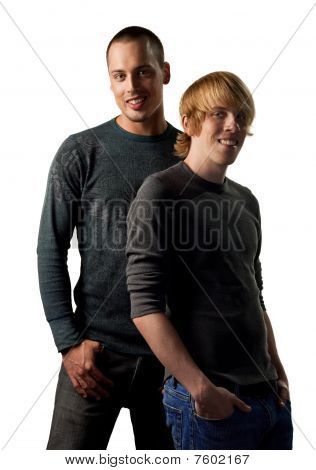 Young Gay Couple