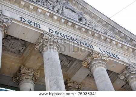 German Parliament or Bundestag