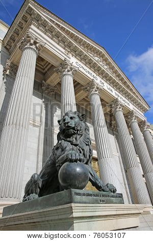 Spanish Congress of Deputies. Madrid