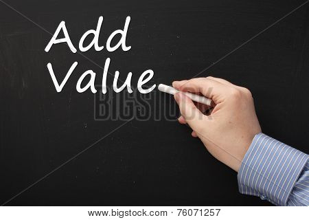 Writing Add Value