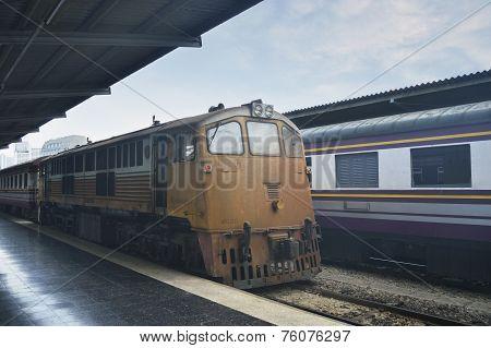 Train At Bangkok