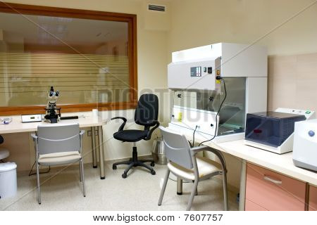 Interior Of Medical Laboratory
