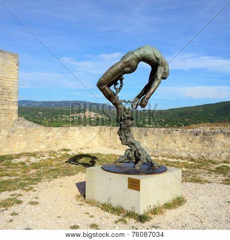 Sculpture Of The Marquis De Sade