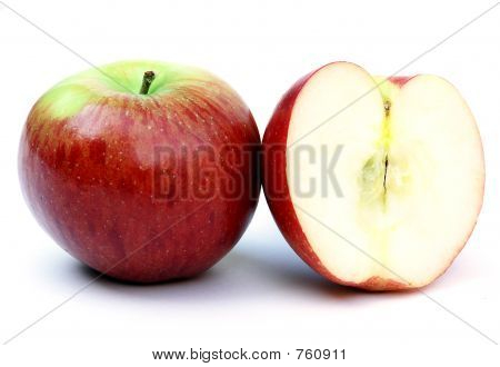 apple and a half