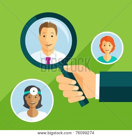 Searching doctor