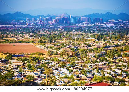 City Of Phoenix Panorama
