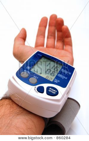 Blood pressure examination