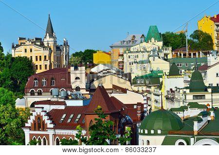 Kiev, Ukraine. Old Houses