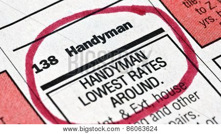 Help Wanted Ad For Handyman