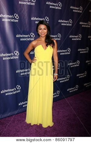 LOS ANGELES - MAR 18:  Karen David at the 23rd Annual A Night at Sardi's to benefit the Alzheimer's Association at the Beverly Hilton Hotel on March 18, 2015 in Beverly Hills, CA