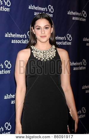 LOS ANGELES - MAR 18:  Kelen Coleman at the 23rd Annual A Night at Sardi's to benefit the Alzheimer's Association at the Beverly Hilton Hotel on March 18, 2015 in Beverly Hills, CA