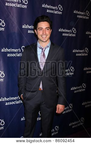 LOS ANGELES - MAR 18:  Ben Feldman at the 23rd Annual A Night at Sardi's to benefit the Alzheimer's Association at the Beverly Hilton Hotel on March 18, 2015 in Beverly Hills, CA