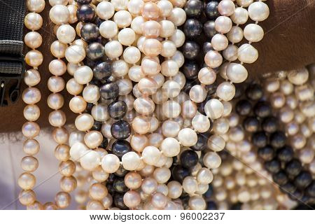 Strings Of Matched Cultured Pearl Necklaces