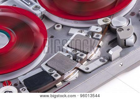 Reel To Reel Audio Tape Recorder Mc 2