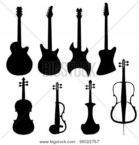 Set Of String Instruments
