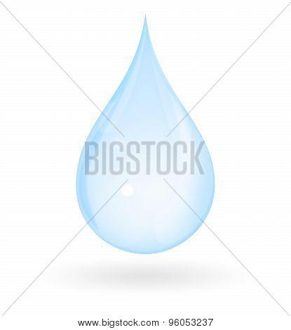 Pure Water Drop