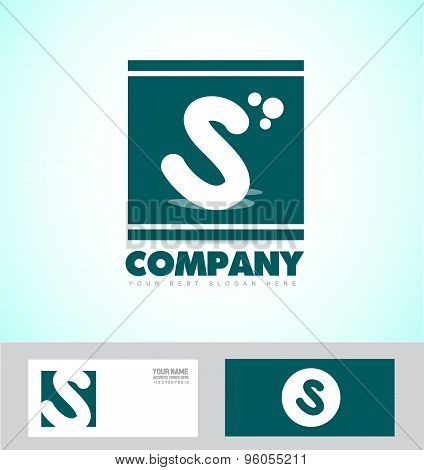Letter S Logo Green Icon