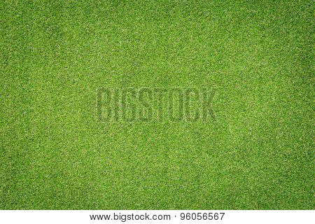 Pattern Of Green Artificial Grass Texture And Background