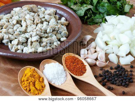 Vietnamese Food, Mussel, Rice Paper, Vietnam Eating